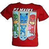 PJ Masks - Camiseta de manga corta para niño