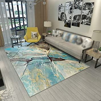 Amazonde Creative Light Einfache Moderne Stil Teppiche Wohnzimmer Couch Tisch Mats Schlafzimmer