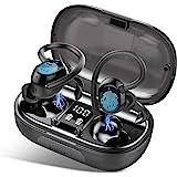 iporachx Auriculares Inalambricos Bluetooth 5.0, Auriculares Bluetooth Deportivos IP7, Verdadero Sonido Estéreo Auriculares R