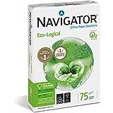 Navigator Eco-Logical - Papel multiusos para impresora - 75 grs 500 folios, color Blanco