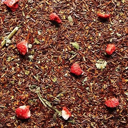 Rooibos-Tee-Erdbeer-Sahne