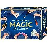 KOSMOS Magisk skola Magic Special Edition, lära sig bara trolleri, 100 tricks, många trolleriredskap, trollerilåda för barn f