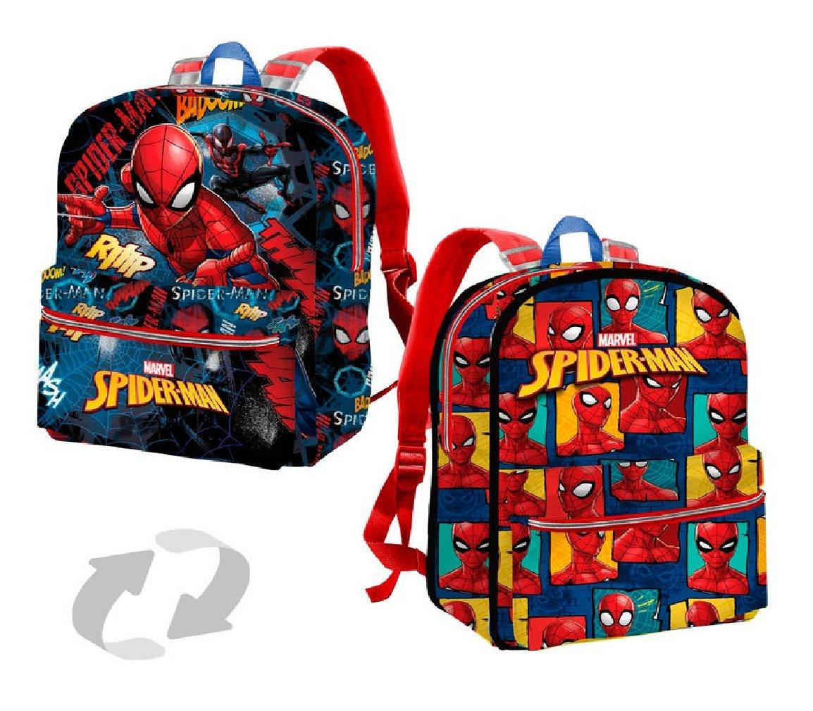 Karactermania Spiderman Smash Mochila Infantil, 31 cm, Azul