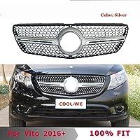 E92//E93 XHNICE 2Pcs Front Bumper Kidney Sport Grill Grille For Bmw E92 E93 M3 2006-2009 08-13 3-Series M3 07-10 E92 2D Coupe