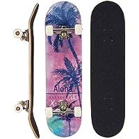 Sumeber, skateboard per evoluzioni da adulti, per principianti, regalo di compleanno, per adolescenti, ragazze, ragazzi e adulti