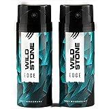 Wild Stone Edge Deodorant For Men 150 ML Each (Pack of 2)