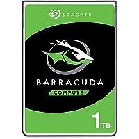 Seagate Barracuda, interne Festplatte 1 TB HDD, 2.5 Zoll, 5400 U/Min, 128 MB Cache, SATA 6 Gb/s, silber, Modellnr…