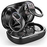 Raykit Écouteur Bluetooth Sport, Écouteurs sans Fil IPX7 Intra-Auriculaires avec Autonomie 48H Oreillette Bluetooth Stereo Ta