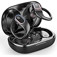 Raykit Bluetooth Kopfhörer Sport, Kabellose Kopfhörer In Ear 8H Single Spielzeit, Bluetooth 5.0 Wireless Earbuds…