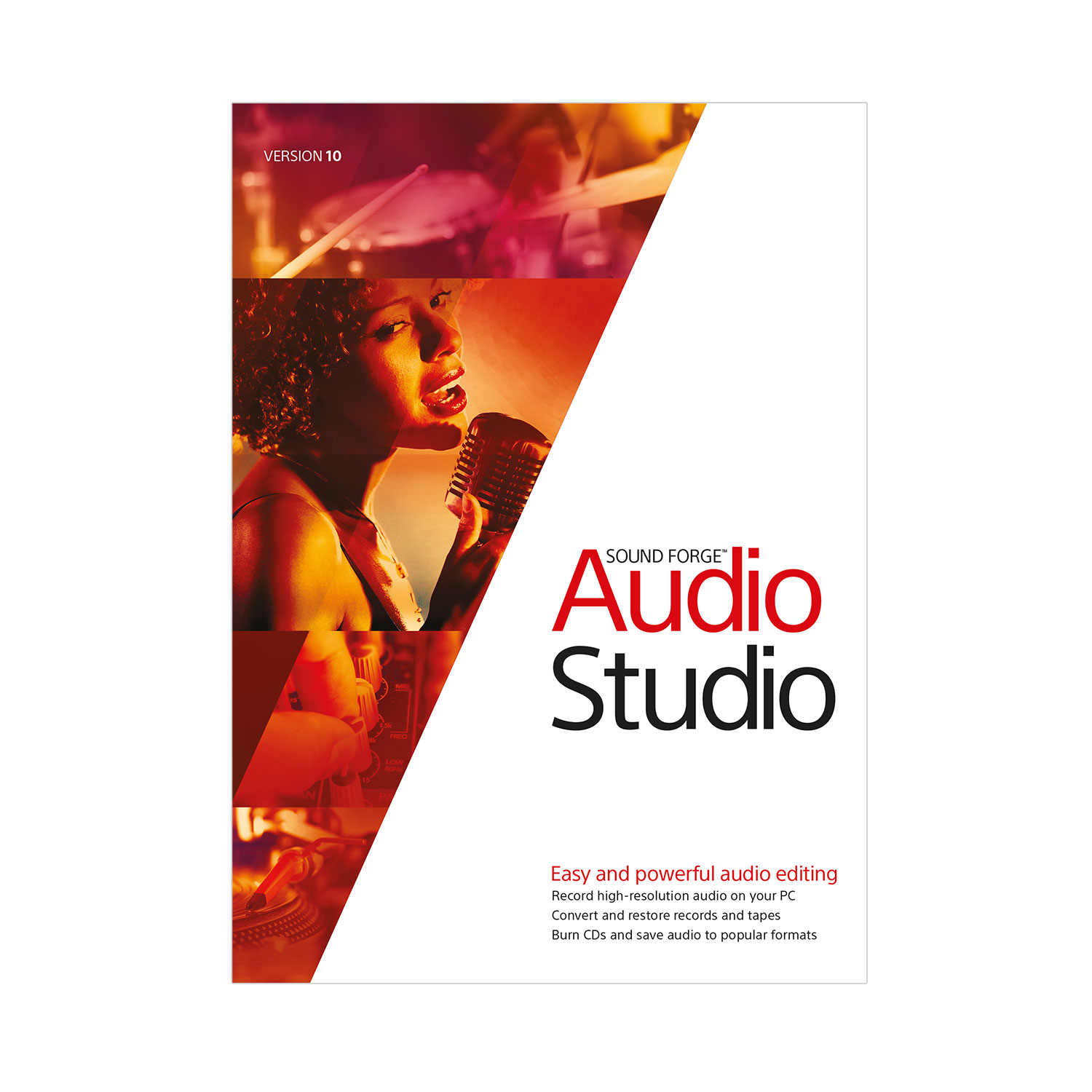Sound Forge Audio Studio 10 [Download]