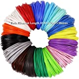 Magicwand® 🎨 Set of 10 (10 Metres Each),1.75 mm PLA Filaments for 3D Pens ✨🎨