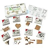 GICO Knobelspiel Klassiker Sets - 8 Geschicklichkeitsspiele in Geschenkverpackung - incl. Lösung (Set 3)