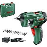 Bosch Home And Garden 0603977005 Accuschroevendraaier PSR Select, 1,5 Ah, 3.6 V-Systeem, Met Micro-USB, Met Koffer, Groen