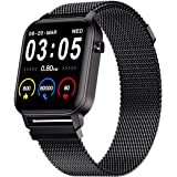 """Maxima Max Pro X2 Smartwatch with Oximeter Function for SpO2, 1.4"""" Full Touch Screen with 2.5 D Curved, Heart Rate Monitoring"""