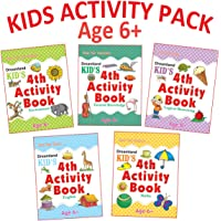Kid's Activity Age 6+ - Pack (5 Titles - English, Maths, Environment, General Knowledge, Logical Reasoning )