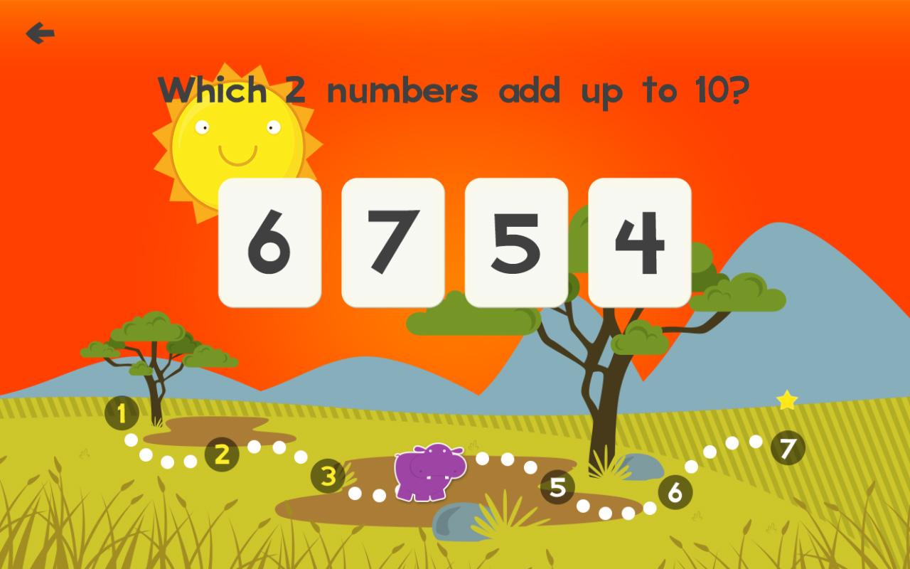 Tier Mathe-Spiele Für Kinder Mit Fähigkeiten Frei: Die
