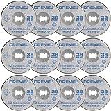 Dremel SC456B Speedclic Metalen Doorslijpschijven, Ø 38 mm, Set Met 12 Accessoires Voor Het Snijden Van Metaal)