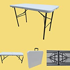 Amaze Folding Garden Dining Table, Rectangular 120 X 60 cm (4' X 2')