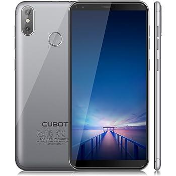 """CUBOT R11 (2018) Pantalla 18:9/5.5""""Diseño El Fin de los Bordes Detección de Huellas Android 8.1 Dual Sim 2GB + 16GB, Dual Cámara Trasera 13MP+2MP / Frontal ..."""