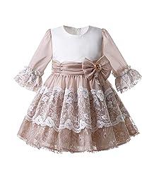 70db2af87 Mooler Vestido de comunión niña Floral