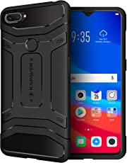 KAPAVER® Oppo RealMe 2 Pro Back Cover Case Drop Tested Shock Proof Carbon Fiber Armor Black (Only for Real Me 2 Pro) Limited Pre-Order Discounted Price