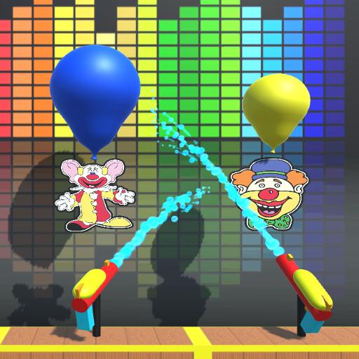 Water Gun Balloon Pop -