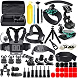 61 in 1 Action Camera Accessories Kit for GoPro Hero 8 7 6 5 4 Hero Session 5 Black SJ4000 5000 6000 Xiaomi Yi AKASO Campark