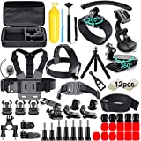 61 in 1 Action Camera Accessories Kit for GoPro Hero 9 8 7 6 5 4 Hero Session 5 Black Insta360 SJ4000 5000 6000 Xiaomi Yi DJI
