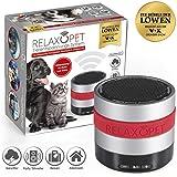 RelaxoPet Entspannungsgerät | Hund & Katze; Version ECO | Beruhigung durch Klangwellen | Ideal bei Gewitter, Feuerwerk oder auf Reisen | Hörbar und unhörbar | 5V, kabellos