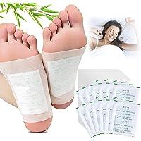 Detox Pflaster Fuß, Kapmore 100 PCS Detox Fußpflaster entgiftungspflaster füße zum Entfernen von Körpergiften…