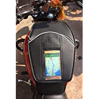 SaharaSeats Thunderbird 350/500 and Thunderbird 350X and 500X Mobile Tank Cover/Tank Bag (Fits All Models of Thunderbird) (Right Side Fuel Cap) (Black)