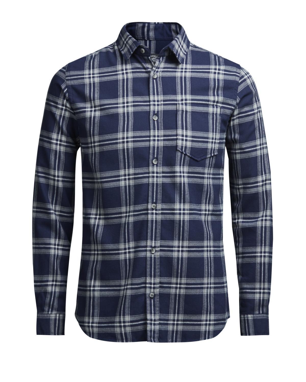 Jack & Jones Jorlarson Shirt LS Camisa para Hombre