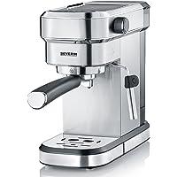 Severin KA 5994 Macchina Espresso Espresa, per 1 o 2 Tazze, Adatta per cialde ESE e caffè macinato, Pronta in 40 Secondi…