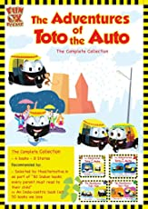 Adventures of Toto the Auto - Complete collection, Set of 4 Contemporary Indian Story Books for Kids