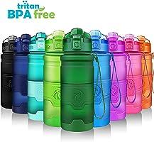 ZORRI Sport Trinkflasche BPA Frei Tritan Wasserflasche Auslaufsicher 400ml/ 500ml/ 700ml /1000ml, Sportflasche Für...