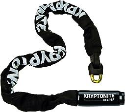 Kryptonite Keeper Integrated Chain Bicycle Lock Black X-Large