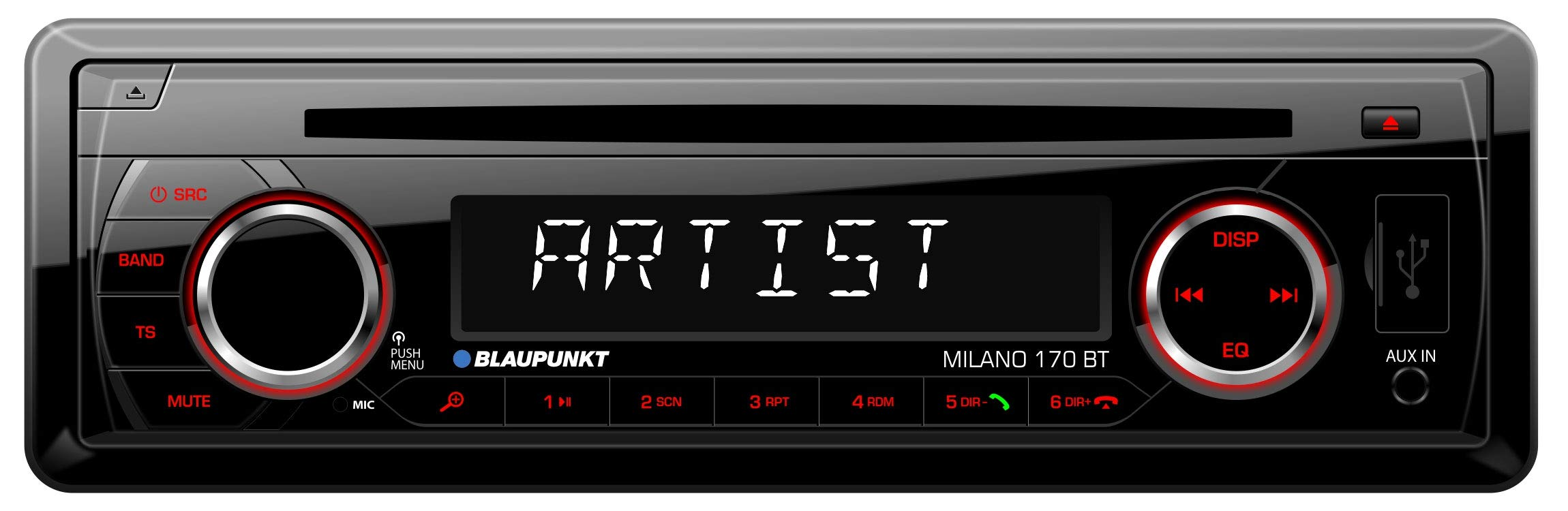 Blaupunkt-2001017123466Milano-170-BT-Auto-Radio-schwarz