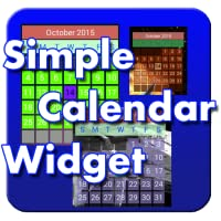 Simple Calendar Widget FREE