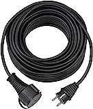 Brennenstuhl Bremaxx Verlängerungskabel (10m Kabel, für den kurzfristigen Einsatz im Außenbereich IP44) schwarz