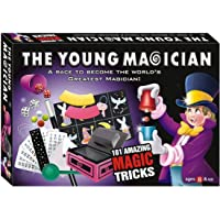 house of gifts the young magician 101 amazing magic tricks for kids- Multi color