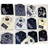 Men Printed Shirts (Pack of 4 Sizes)