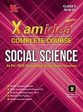 Xam Idea Complete Course Social Science Class 10 for 2019 Exam