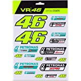 Valentino Rossi Petronas VR46 Stickers Set, Unisex, Multi, One Size