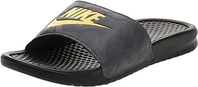 Nike Men's Benassi Blue Beach & Pool Shoes