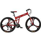 Fitness Minutes Folding Bike, Red, FM-F26-03M-RD