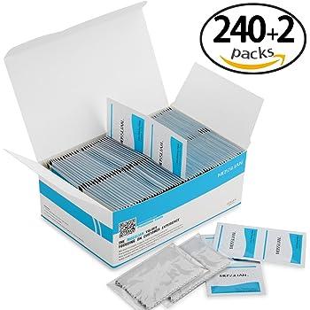 Lingette Lunette  MOSSLIAN(240 Packs)Lingettes Nettoyantes Multi Usages pour  Lunettes, Tablette 71687977e549