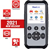 Autel MaxiLink ML629 Enhanced OBD2 Scanner, 2021 Newest Upgraded Ver. of AL619, ML619, ABS SRS Engine Transmission Diagnosis,