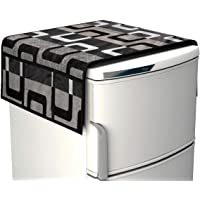 Factcore Designer Black Box Fridge Top Cover (21 X 39 Inches)