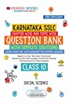 Oswaal Karnataka SSLC Question Bank Class 10 Social Science Chapterwise and Topicwise : Chapterwise & Topicwise with...