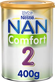 Nestlé NAN COMFORT 2, From 6 to 12 months, Follow-up Formula for Colic, Gas, and Constipation, Fortified with Iron 400g